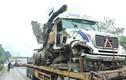Xe container nát đầu, Đại lộ Thăng Long ùn tắc sau tai nạn