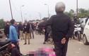 Xe chở công nhân Sam Sung cán hai bé gái tử vong