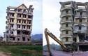 """Vì sao tiến độ phá dỡ """"lâu đài"""" của Tàng Keangnam bị chậm?"""