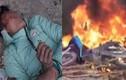Trộm chó, thanh niên bị dân vây đánh, đốt xe máy