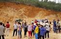 Sập mỏ đất một tài xế bị vùi lấp tử vong ở Hà Nội