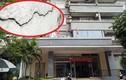 """Phát hoảng vết """"lạ"""" trên tòa chung cư bị cháy ở KĐT Mỹ Đình"""