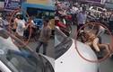 Lý do gì khiến CSGT Hà Nội quật ngã tài xế giữa đường?