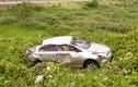 Bí ẩn ô tô móp méo dưới mương nước ở Thái Nguyên
