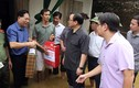 Bí thư Hà Nội thăm, động viên người dân vùng ngập lụt ở Chương Mỹ