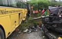 Ô tô đâm xe khách kinh hoàng trên cao tốc Nội Bài - Lào Cai