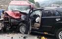 Ám ảnh hiện trường ô tô đâm nhau trên cao tốc Nội Bài-Lào Cai
