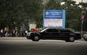 """Cận cảnh """"Quái thú"""" Cadillac One đưa Tổng thống Trump rời Hà Nội"""