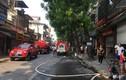 Cháy cửa hàng trên đường La Thành, nhiều người nhảy từ tầng 4 thoát thân