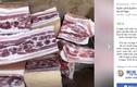 Thịt lợn nhập ngoại loạn giá trên chợ mạng khiến người dân hoang mang