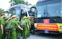 Ngày lên đường vào phía Nam chống dịch của học viên trường cảnh sát