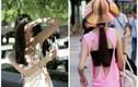 Trời nóng, giới trẻ Bắc Kinh đua nhau mặc mát mẻ xuống phố