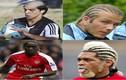 Thời trang tóc... thảm họa trong làng sao bóng đá