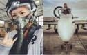 Hot girl 9X cực xinh lái máy bay chiến đấu