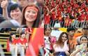 Fan nữ khoe sắc, đội nắng mưa cổ vũ U21 VN, U19 HAGL