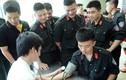 Ảnh 1.500 công an Hà Nội hiến máu cứu nhân dân