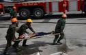 Xem Lữ đoàn Công binh 25 ứng cứu sập đổ công trình