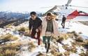 Nàng blogger 9X được cầu hôn bằng trực thăng trên núi tuyết