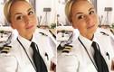Nữ phi công phải đóng tài khoản Instagram vì quá xinh đẹp