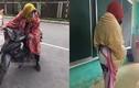 Teen Việt mang chăn ra đường, ôm chăn đến trường... chống rét