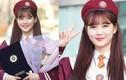 Hình ảnh đáng yêu của Kim Yoo Jung trong ngày lễ tốt nghiệp trung học