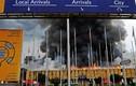 Hình ảnh lửa thiêu sân bay quốc tế Nairobi