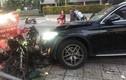 Xe Mercedes tông tài xế GrabBike tử vong, nữ tiếp viên hàng không bị thương nặng