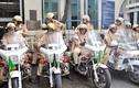 Ảnh đẹp về những nữ CSGT ra quân làm nhiệm vụ