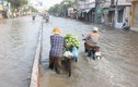 Triều cường, đường phố Sài Gòn thành sông, hàng quán đóng cửa