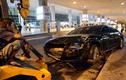 Hiện trường vụ Audi đón Hà Hồ gây tai nạn ở sân bay
