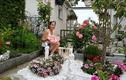 Vườn hoa đẹp mê ly của gia đình Việt ở Thụy Sĩ