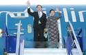 Ảnh: Chủ tịch nước xuống sân bay quân sự ở thủ đô Lima