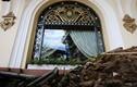 Vỉa hè khách sạn Majestic ngổn ngang sau khi bồn cây bị tháo dỡ
