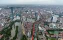 Ảnh toàn cảnh tuyến đường sắp mở rộng giá 3,5 tỷ đồng mỗi mét