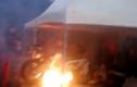 BMW S1000RR 750 triệu cháy dữ dội sau màn biểu diễn lỗi