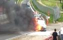 Nissan GT-R bốc cháy dữ dội tại trường đua Nürburgring