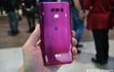 Cận cảnh LG V30 màu hồng phớt siêu quyến rũ
