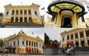 Ngắm nhà hát lớn Hà Nội lòe loẹt trong diện mạo mới