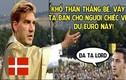 Ảnh chế bóng đá: Lord đại đế trao vé Euro cho Ibrahimovic