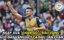 Ảnh chế bóng đá: Giroud khẳng định tấm thân vàng ngọc