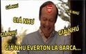 Ảnh chế bóng đá: Arsenal ước Everton là Barca