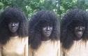 Choáng váng với cô nàng người mẫu đen như than