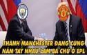 Ảnh chế bóng đá: Đại gia NHA ôm mộng phục hận Man City