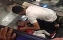 Clip bé gái kẹt tay trong thang máy cuốn gây sốc