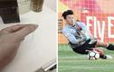 Fan nữ khoe giật tóc Bùi Tiến Dũng U23 Việt Nam, rao bán trên mạng?