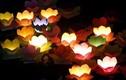 Ảnh: Hoa đăng rực sáng sông Sài Gòn đêm rằm tháng Giêng