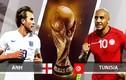 """ĐT Anh - ĐT Tunisia: """"Sư tử non"""" gầm vang tại World Cup 2018"""
