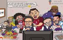 Hí họa World Cup của chàng họa sĩ Việt khiến NHM ôm bụng cười