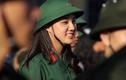 Nhan sắc xinh đẹp của các thiếu nữ tự nguyện nhập ngũ