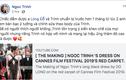Ngọc Trinh lên tiếng khi bị chỉ trích mặc sexy tại Cannes, CĐM phản ứng cực gắt